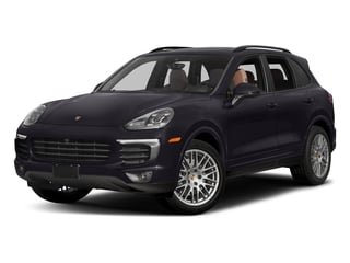 Purpurite Metallic 2017 Porsche Cayenne Pictures Cayenne Utility 4D Platinum AWD V6 photos front view