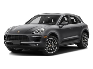 Volcano Grey Metallic 2017 Porsche Macan Pictures Macan Utility 4D Performance AWD V6 Turbo photos front view