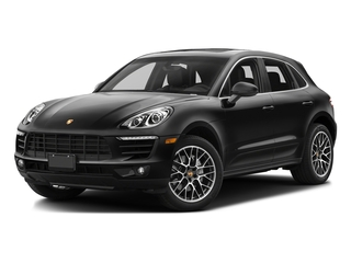 Custom Color Non-Metallic 2017 Porsche Macan Pictures Macan Utility 4D Performance AWD V6 Turbo photos front view