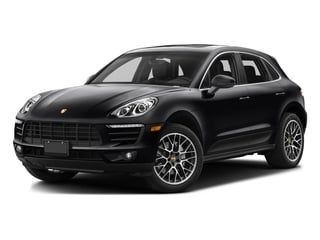 Black 2017 Porsche Macan Pictures Macan Utility 4D Performance AWD V6 Turbo photos front view
