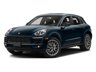 Night Blue Metallic 2017 Porsche Macan Pictures Macan Utility 4D Performance AWD V6 Turbo photos front view