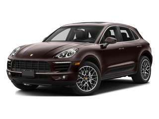 Mahogany Metallic 2017 Porsche Macan Pictures Macan Utility 4D Performance AWD V6 Turbo photos front view