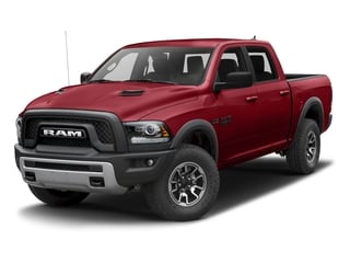 Flame Red Clearcoat 2017 Ram Truck 1500 Pictures 1500 Rebel 4x2 Crew Cab 5'7 Box photos front view