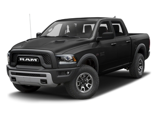 Brilliant Black Crystal Pearlcoat 2017 Ram Truck 1500 Pictures 1500 Rebel 4x2 Crew Cab 5'7 Box photos front view