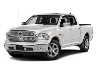 Bright Silver Metallic Clearcoat 2017 Ram Truck 1500 Pictures 1500 Laramie 4x4 Crew Cab 6'4 Box photos front view