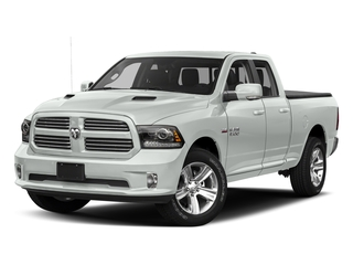Bright White Clearcoat 2017 Ram Truck 1500 Pictures 1500 Night 4x2 Quad Cab 6'4 Box photos front view