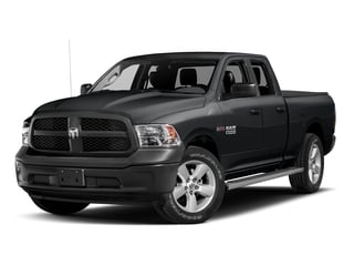 Granite Crystal Metallic Clearcoat 2017 Ram Truck 1500 Pictures 1500 HFE 4x2 Quad Cab 6'4 Box photos front view