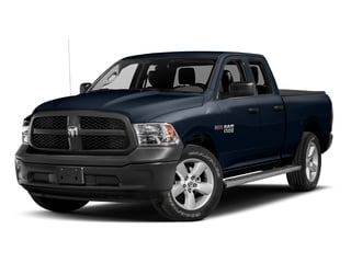 True Blue Pearlcoat 2017 Ram Truck 1500 Pictures 1500 Quad Cab HFE 2WD V6 T-Diesel photos front view