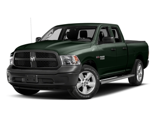 Black Forest Green Pearlcoat 2017 Ram Truck 1500 Pictures 1500 Quad Cab HFE 2WD V6 T-Diesel photos front view