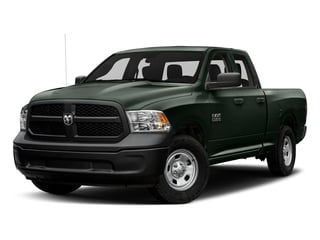 Black Forest Green Pearlcoat 2017 Ram Truck 1500 Pictures 1500 Express 4x2 Quad Cab 6'4 Box photos front view