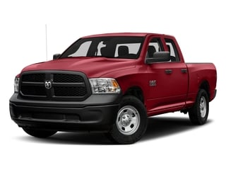 Flame Red Clearcoat 2017 Ram Truck 1500 Pictures 1500 Express 4x2 Quad Cab 6'4 Box photos front view