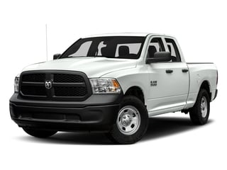 Bright White Clearcoat 2017 Ram Truck 1500 Pictures 1500 Express 4x2 Quad Cab 6'4 Box photos front view