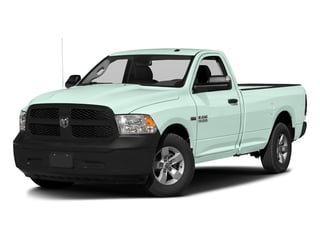 Robin Egg Blue 2017 Ram Truck 1500 Pictures 1500 Lone Star 4x2 Regular Cab 6'4 Box photos front view