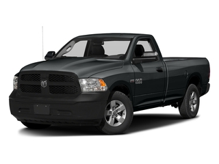 Maximum Steel Metallic Clearcoat 2017 Ram Truck 1500 Pictures 1500 Regular Cab Bighorn/Lone Star 2WD photos front view