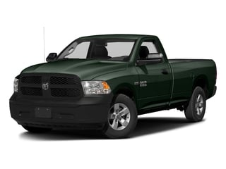 Black Forest Green Pearlcoat 2017 Ram Truck 1500 Pictures 1500 Lone Star 4x2 Regular Cab 6'4 Box photos front view