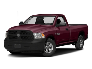 Delmonico Red Pearlcoat 2017 Ram Truck 1500 Pictures 1500 Lone Star 4x2 Regular Cab 6'4 Box photos front view