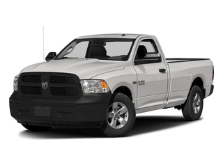 Bright Silver Metallic Clearcoat 2017 Ram Truck 1500 Pictures 1500 Lone Star 4x2 Regular Cab 6'4 Box photos front view
