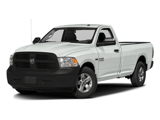 Bright White Clearcoat 2017 Ram Truck 1500 Pictures 1500 Lone Star 4x2 Regular Cab 6'4 Box photos front view