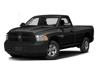Brilliant Black Crystal Pearlcoat 2017 Ram Truck 1500 Pictures 1500 Lone Star 4x2 Regular Cab 6'4 Box photos front view