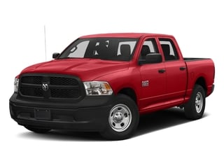 Bright Red 2017 Ram Truck 1500 Pictures 1500 Tradesman 4x4 Crew Cab 5'7 Box photos front view