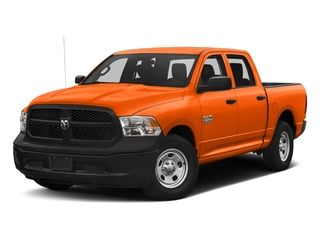 Omaha Orange 2017 Ram Truck 1500 Pictures 1500 Tradesman 4x4 Crew Cab 5'7 Box photos front view