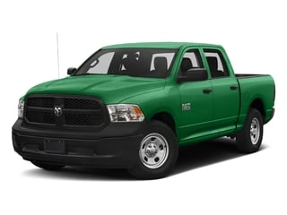 Bright Green 2017 Ram Truck 1500 Pictures 1500 Tradesman 4x4 Crew Cab 5'7 Box photos front view