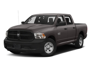 Granite Crystal Metallic Clearcoat 2017 Ram Truck 1500 Pictures 1500 Tradesman 4x4 Crew Cab 5'7 Box photos front view