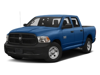 Blue Streak Pearlcoat 2017 Ram Truck 1500 Pictures 1500 Tradesman 4x4 Crew Cab 5'7 Box photos front view