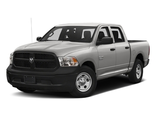 Bright Silver Metallic Clearcoat 2017 Ram Truck 1500 Pictures 1500 Tradesman 4x4 Crew Cab 5'7 Box photos front view