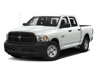 Bright White Clearcoat 2017 Ram Truck 1500 Pictures 1500 Tradesman 4x4 Crew Cab 5'7 Box photos front view