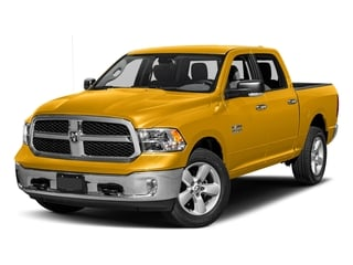 Construction Yellow 2017 Ram Truck 1500 Pictures 1500 Big Horn 4x2 Crew Cab 6'4 Box photos front view