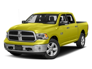 National Safety Yellow 2017 Ram Truck 1500 Pictures 1500 Big Horn 4x2 Crew Cab 6'4 Box photos front view