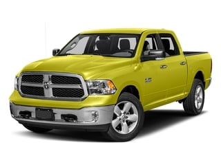 National Safety Yellow 2017 Ram Truck 1500 Pictures 1500 Crew Cab SLT 4WD photos front view