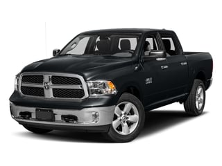 Maximum Steel Metallic Clearcoat 2017 Ram Truck 1500 Pictures 1500 Lone Star Silver 4x2 Crew Cab 5'7 Box photos front view
