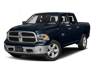True Blue Pearlcoat 2017 Ram Truck 1500 Pictures 1500 Big Horn 4x2 Crew Cab 6'4 Box photos front view