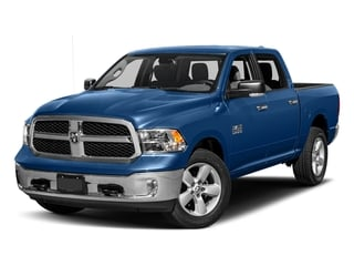 Blue Streak Pearlcoat 2017 Ram Truck 1500 Pictures 1500 Big Horn 4x2 Crew Cab 6'4 Box photos front view