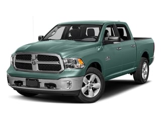 Light Green 2017 Ram Truck 1500 Pictures 1500 Big Horn 4x2 Crew Cab 6'4 Box photos front view