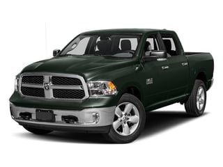 Black Forest Green Pearlcoat 2017 Ram Truck 1500 Pictures 1500 Lone Star 4x4 Crew Cab 5'7 Box photos front view