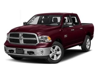 Delmonico Red Pearlcoat 2017 Ram Truck 1500 Pictures 1500 Big Horn 4x2 Crew Cab 6'4 Box photos front view