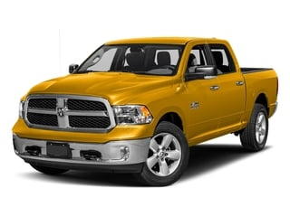 Detonator Yellow Clearcoat 2017 Ram Truck 1500 Pictures 1500 Big Horn 4x2 Crew Cab 6'4 Box photos front view
