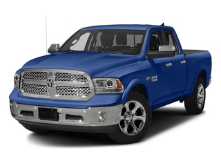 Blue Streak Pearlcoat 2017 Ram Truck 1500 Pictures 1500 Laramie 4x4 Quad Cab 6'4 Box photos front view