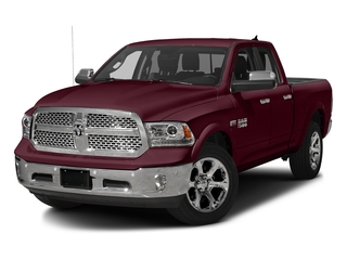 Delmonico Red Pearlcoat 2017 Ram Truck 1500 Pictures 1500 Laramie 4x4 Quad Cab 6'4 Box photos front view