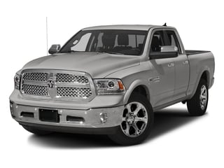 Bright Silver Metallic Clearcoat 2017 Ram Truck 1500 Pictures 1500 Laramie 4x2 Quad Cab 6'4 Box photos front view