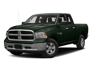 Black Forest Green Pearlcoat 2017 Ram Truck 1500 Pictures 1500 Quad Cab SLT 2WD photos front view