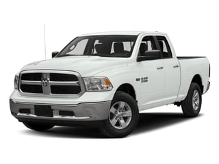 Bright White Clearcoat 2017 Ram Truck 1500 Pictures 1500 Quad Cab SLT 2WD photos front view