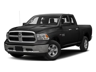 Brilliant Black Crystal Pearlcoat 2017 Ram Truck 1500 Pictures 1500 Quad Cab Bighorn/Lone Star 2WD photos front view