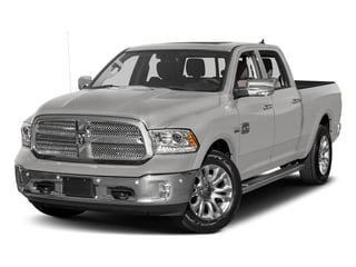 Bright Silver Metallic Clearcoat 2017 Ram Truck 1500 Pictures 1500 Longhorn 4x4 Crew Cab 6'4 Box photos front view