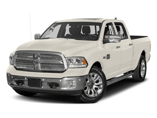 Pearl White 2017 Ram Truck 1500 Pictures 1500 Longhorn 4x4 Crew Cab 6'4 Box photos front view
