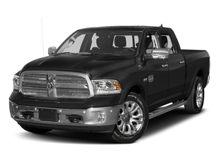 Brilliant Black Crystal Pearlcoat 2017 Ram Truck 1500 Pictures 1500 Longhorn 4x4 Crew Cab 6'4 Box photos front view