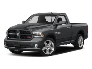 Granite Crystal Metallic Clearcoat 2017 Ram Truck 1500 Pictures 1500 Night 4x2 Regular Cab 6'4 Box photos front view